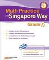 Math Practice the Singapore Way Grade 5