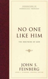 No One Like Him: The Doctrine of God  - Slightly Imperfect