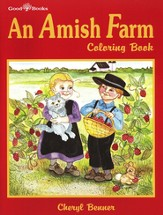 An Amish Farm Coloring Book