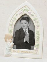 Precious Moments, First Communion Photo Frame, Boy