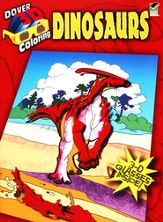Dinosaurs, 3-D Coloring Book