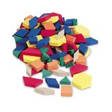 Pattern Blocks - Plastic 1cm (Set of 250)