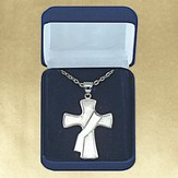Deacon's Cross, Sterling Silver Pendant