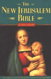 The New Jerusalem Bible, Reader's Edition, Paperback