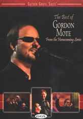 The Best of Gordon Mote, DVD