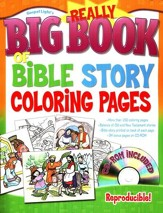 Really Big Book of Bible Story Coloring Pages