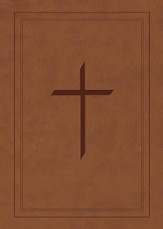 Ryrie NAS Study Bible Soft Touch Brown, Red Letter, Indexed
