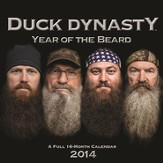 Year of the Beard--2014 Wall Calendar
