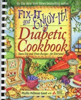 Fix-It and Enjoy-It! Diabetic Cookbook (slightly imperfect)