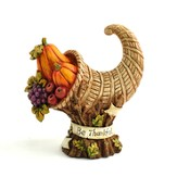 Be Thankful Cornucopia Figurine