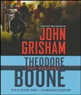 Theodore Boone: The Scandal unabridged audiobook on CD