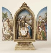 Holy Family with Kings and Angel