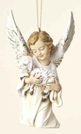 Angel with Lamb Ornament
