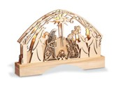 Lighted Nativity Centerpiece