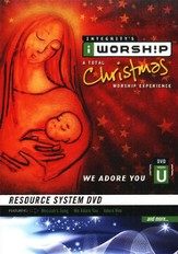 iWorship Resource System DVD U Christmas: We Adore You