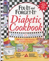 Fix-It and Forget-It Diabetic Cookbook, Revised and Updated (Plastic Comb Binding)