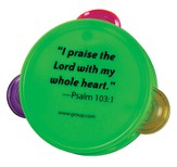 Living Inside Out Bible Memory Maker, Music Camp - Tambourine, pack of 5, Summer 2013