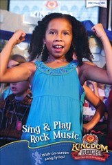 Sing & Play Rock Music DVD