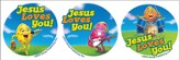 Rock-n-Roll Easter Event Skin Decals, Package of 12