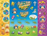 Rock-n-Roll Easter Event Sticker Sheets, Package of 12