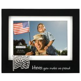 Hero Photo Frame, with Flag