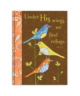 Under His Wings We Find Refuge Journal