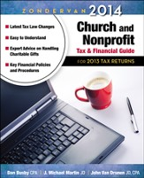 Zondervan 2014 Church and Nonprofit Tax and Financial Guide: For 2013 Tax Returns