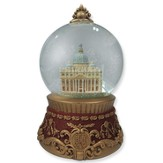 St. Peter's Basilica Glass Waterball Figurine