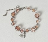 Confirmation Bracelet with Dove Charm