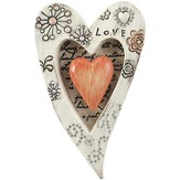Love Is Patient, Heart Plaque