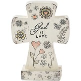 God Is Love Tabletop Cross