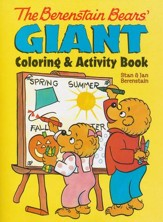 The Berenstain Bears' Giant Coloring & Activity Book