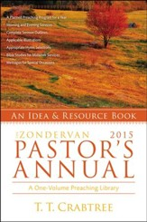 The Zondervan Pastor's Annual, 2015 Edition