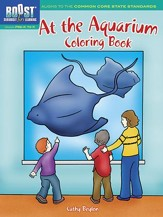 At the Aquarium Coloring Book