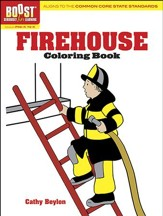 Firehouse Coloring Book