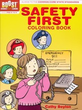 Safety First Coloring Book