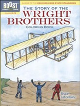 The Story of the Wright Brothers Coloring Book