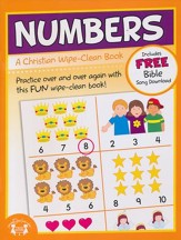 Numbers Christian Wipe-Clean Workbooks