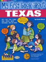 Texas My First Book, Grades K-8