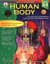 Human Body: Fun Activities, Experiments, Investigations, and Observations! Grades 2 to 3