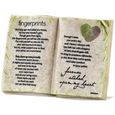 Fingerprints, Forever Etched Upon My Heart, Book Plaque