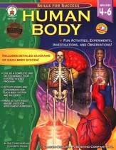 Human Body: Fun Activities, Experiments, Investigations, and Observations! Grades 4 to 6