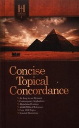 Holman Concise Topical Concordance - Slightly Imperfect