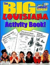 Louisiana Big Activity Book, Grades K-5