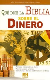 Qué Dice la Biblia Sobre el Dinero, Pamfleto  (What Does the Bible Say about Money? Pamphlet)