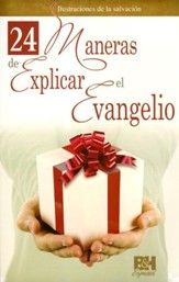 24 Maneras de Explicar el Evangelio, Pamfleto  (24 Ways to Explain the Gospel Pamphlet)