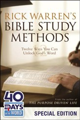 Rick Warren's Bible Study Methods: Twelve Ways You Can Unlock God's Word, Limited Edition - Slightly Imperfect