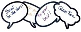 Laminated Speech Bubbles (Package of 12)