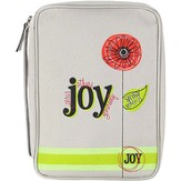 Joy, Flower Bible Cover, Medium