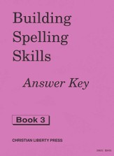 Building Spelling Skills Grade 3, Answer Key